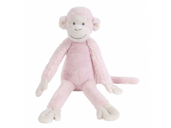 Růžová  Opička Mickey no. 2 vel.43 cm