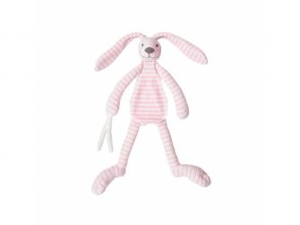 Přítulka králíček Reece růžový 30 cm