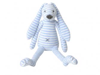 Modrý pruhovaný králíček Reece no. 2 vel.40 cm