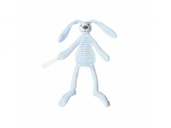 Přítulka králíček Reece modrý 30 cm