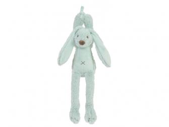 Tyrkysový králíček Richie Hudební vel.34 cm