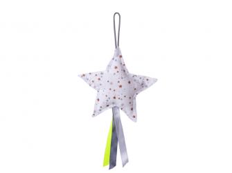 Závěsná hvězda s hvězdičkami