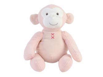 Růžová opička Marly no.2 27 cm