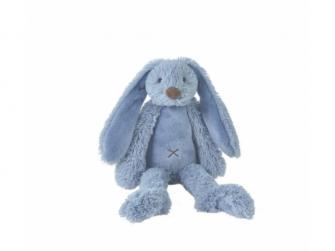 Sytě modrý králíček Richie vel.38 cm