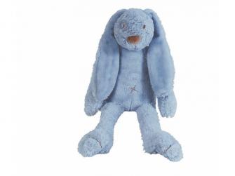 Sytě modrý králíček Richie BIG