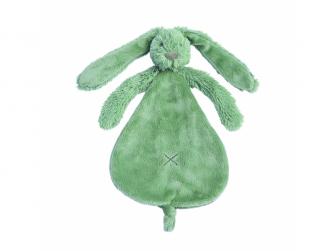 Přítulka králíček Richie zelená - velikost 25cm