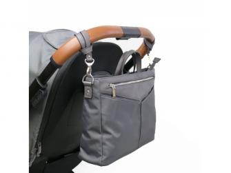 Organizér a kabelka na kočárek 2v1 ELEN, dark grey 7
