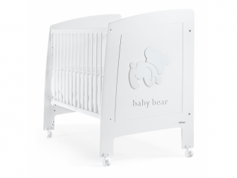 BABY BEAR POSTÝLKA 120X60 cm, white