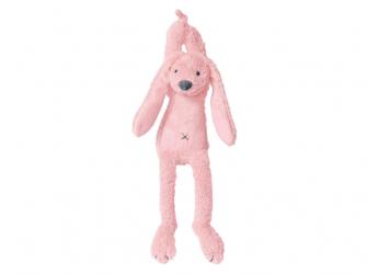 Růžový Králíček Richie Hudební vel.34 cm