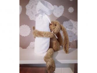 Hnědý králíček Richie vel.28cm 2