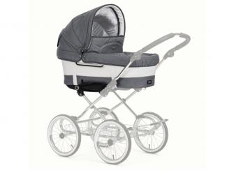 Hluboká korba + sportovní sedačka De Luxe Lounge Grey