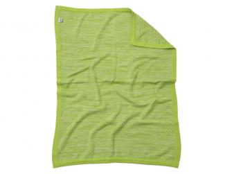 Pletená deka zelená