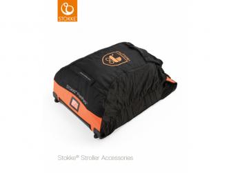 Cestovní taška na kočárek, Orange - Black
