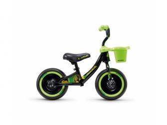 Dětské odrážedlo pedeX 3v1 černo-zelené