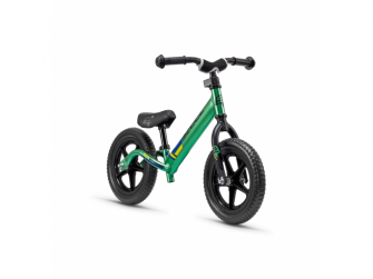 Dětské odrážedlo pedeX race light neonově zeleno-černé 2