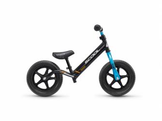 Dětské odrážedlo pedeX race light neonově černo-modré