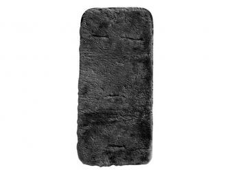 podložka do kočárku kožešina schwarz