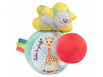 Vibrující hudební míč žirafa Sophie