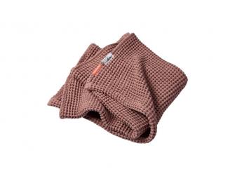Vaflová deka 80 x 100 cm - růžová