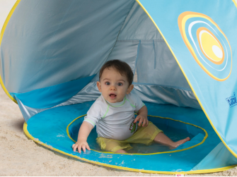 Stan s bazénem anti-UV pro miminko