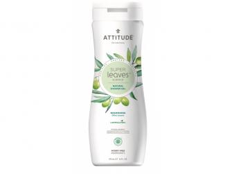 Přírodní tělové mýdlo Super leaves s detox. účinkem - olivové listy 473 ml
