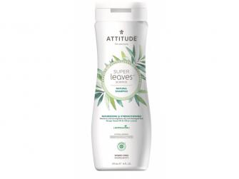 Přírodní šampón Super leaves s detox. účinkem - vyživující pro suché a poškozené vlasy 473 ml