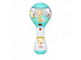 Elektronické chrastítko žirafa Sophie