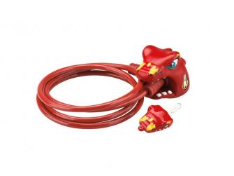 Zámek na kolo Čínský drak