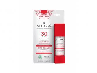 100% minerální ochranná tyčinka na obličej a rty (SPF 30) bez vůně 18,4 g
