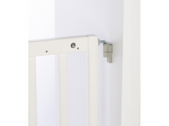 Zábrana Dual Install Extending Wood White 7