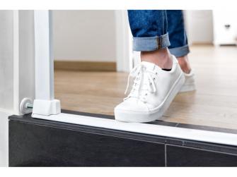 Zábrana Flat Step White 5