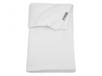 deka do kočárku/kolébky Mini relief warm white