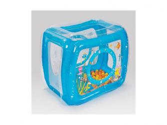 Nafukovací hrací stan Moře + míčky 50 ks