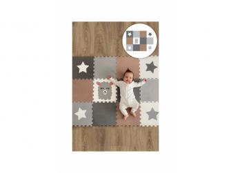 Minideckfloor podlaha 12 dílů - lama a hvězdička
