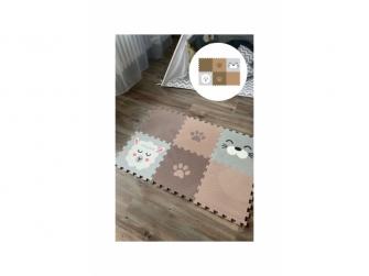 Minideckfloor podlaha 6 dílů - beránek, tuleň a tlapka