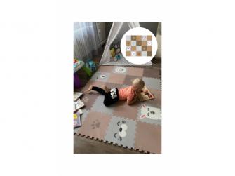 Minideckfloor podlaha 20 dílů - beránek, lama, tuleň, méďa a tlapka