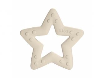 Baby Bitie kousátko Star Ivory
