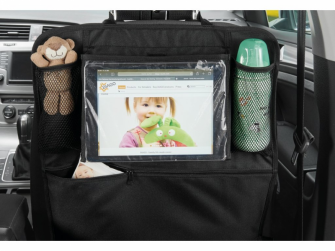 Organizér do auta s držákem na tablet