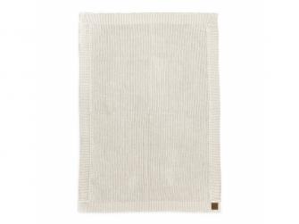 Vlněná deka Vanilla white 2