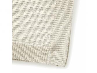 Vlněná deka Vanilla white 3