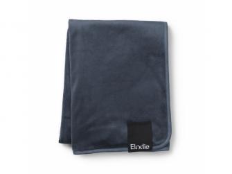 Sametová deka Juniper Blue