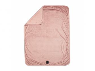 Sametová deka Pink Nouveau 3