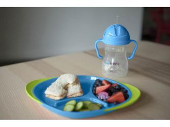 Dětský talířek-modrá 6