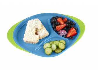 Dětský talířek-modrá 3