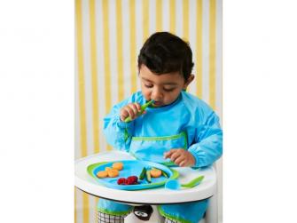 Dětský talířek-modrá 5