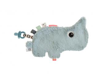 Přítulka nosorožec Nozo - modrý proužek 2