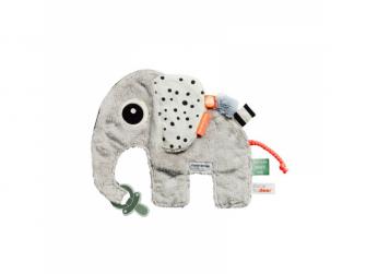 Přítulka sloník Elphee - šedá