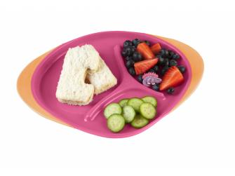 Dětský talířek-růžová 2