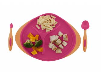 Dětský talířek-růžová 3