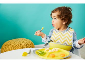 Dětský talířek-žlutá 2